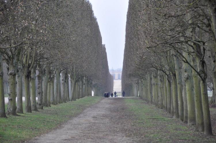 Versalles, parque sin diversiones