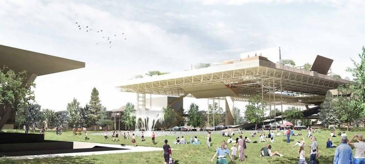 Isla urbana un parque p blico de m ltiples niveles for Design couchtisch multilevel l