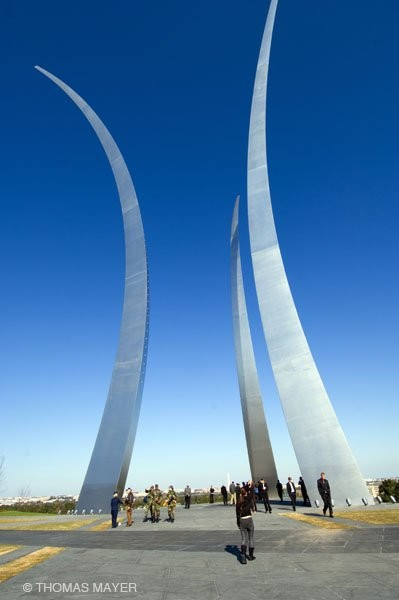 Airforce Memorial Arlington, 2006 © Thomas Mayer