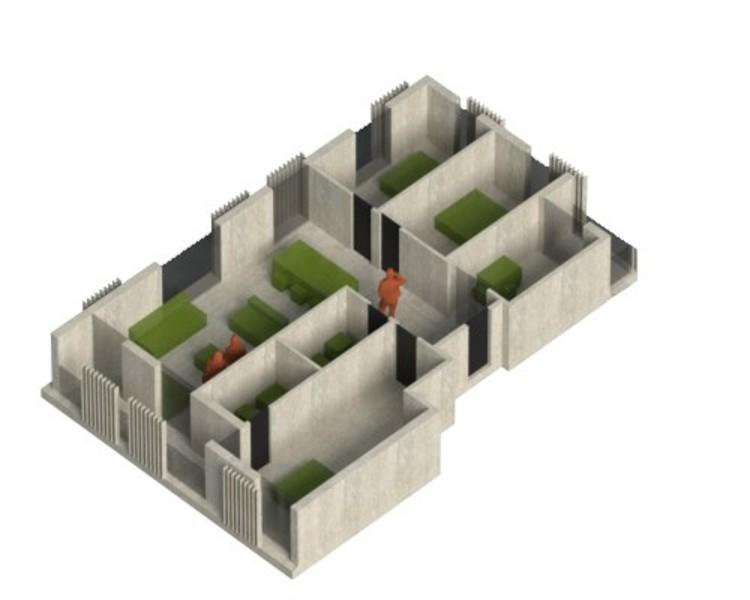 Tipología 3 dormitorios