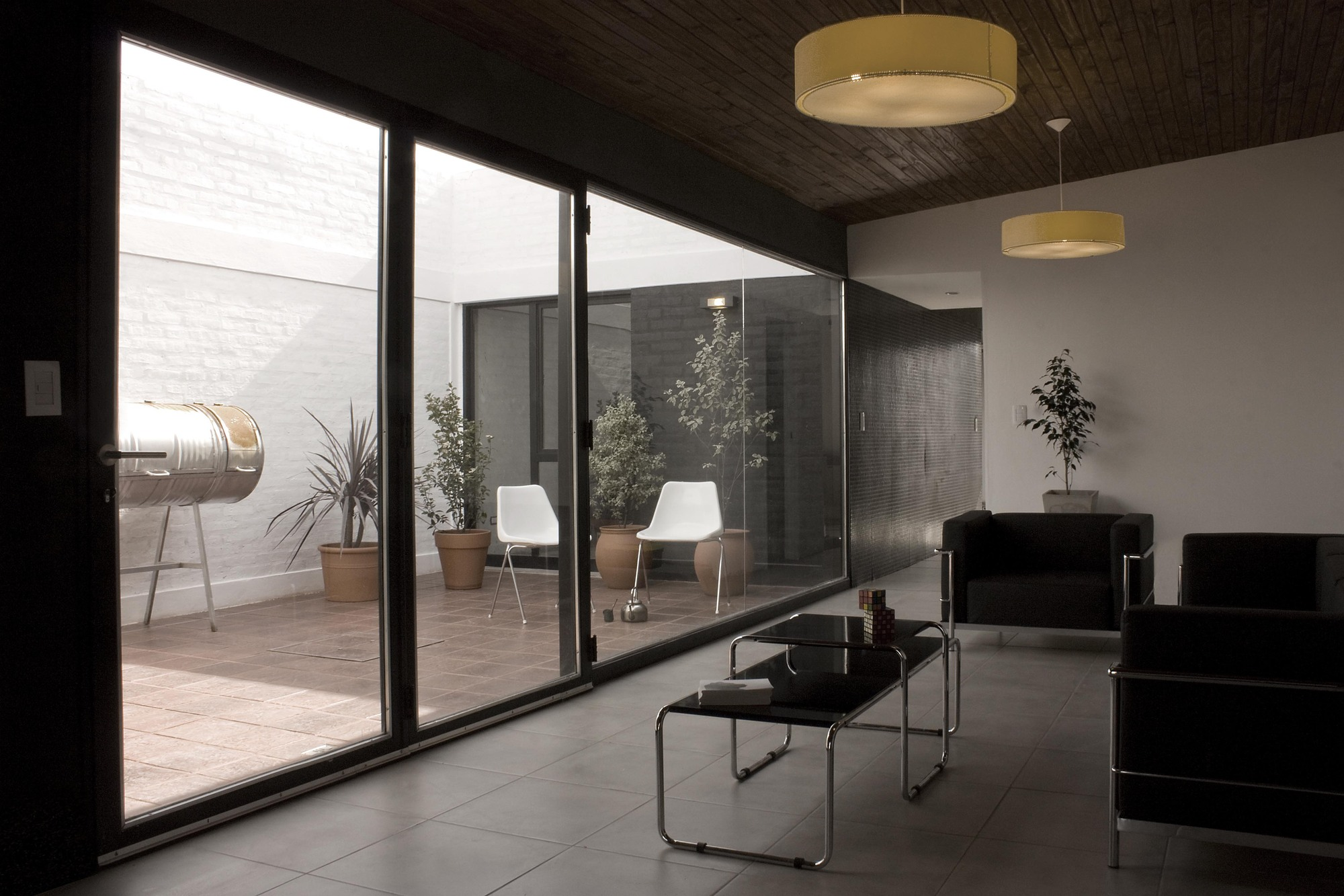 Galer a de casa tres patios m2g arquitectos 1 - Plantas para patios interiores ...