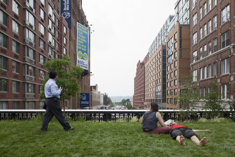 High Line Park – James Corner Field Operations & Diller Scofidio + Renfro - © Fran Parente