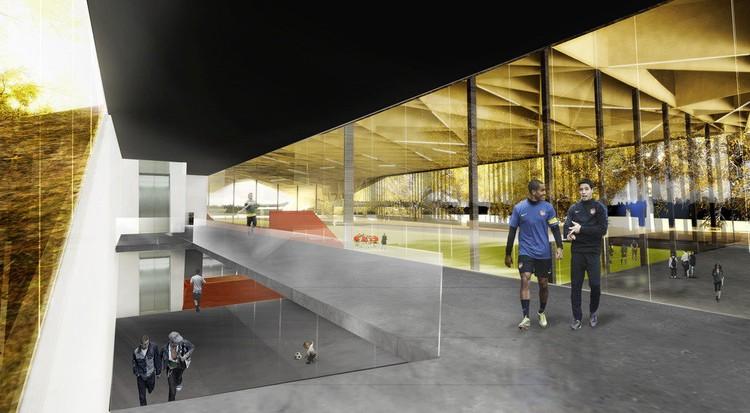 Cortesia de Saucier + Perrotte & Hughes Condon Marler Architects