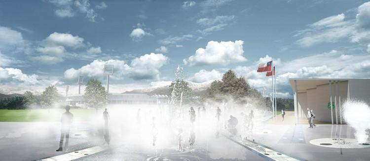 plaza de agua