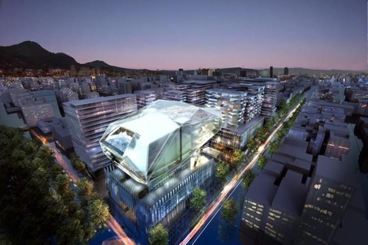 © Centro Cultural en Bogotá, Foster + Partners