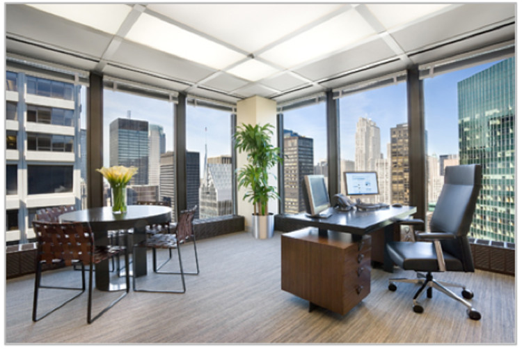 Interior del Seagram - © www.buildings.com