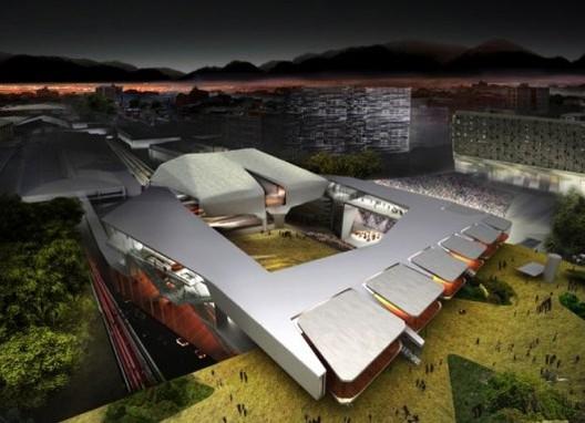© Diller Scofidio + Renfro y UdeB Arquitectos