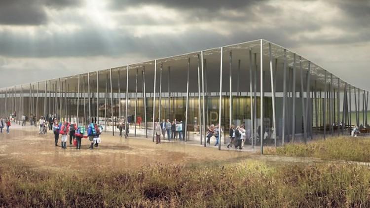 Visión del nuevo Centro de Visitantes de Stonhenge, Fuente: Supplied