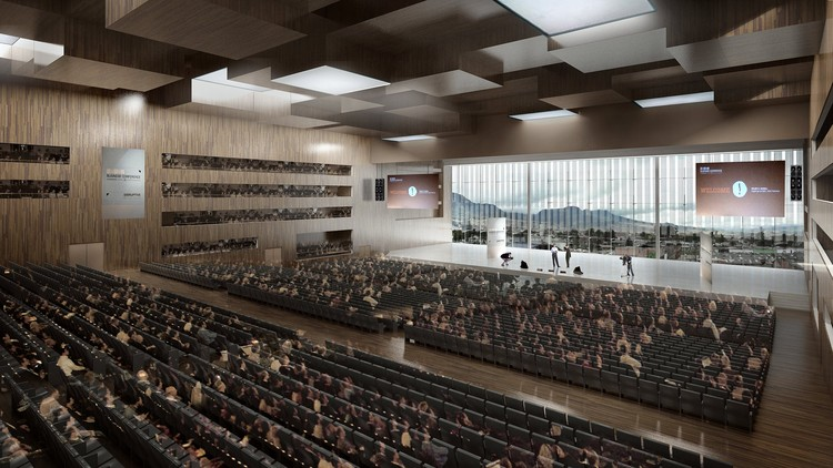 Auditorio © Bermúdez + Herreros