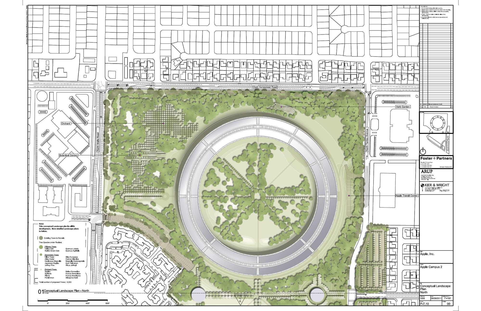 M s sobre el nuevo campus de apple por foster partners for Plan de arquitectura