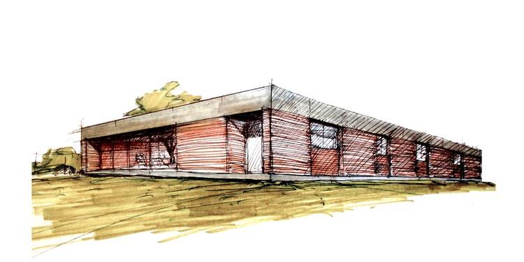 Croquis 1 © Estudio 226 Arquitectos