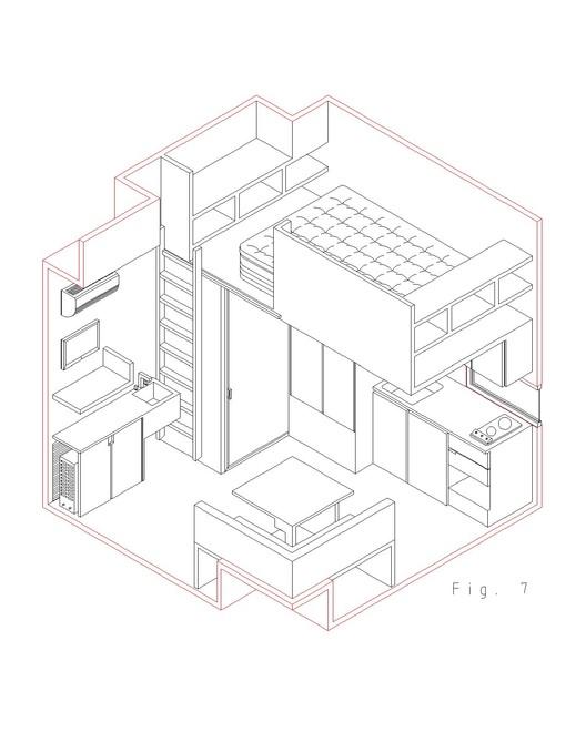 esquema distribucion interior
