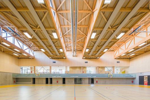 Hacine Cherifi Gymnasium Tectoniques Architects Archdaily