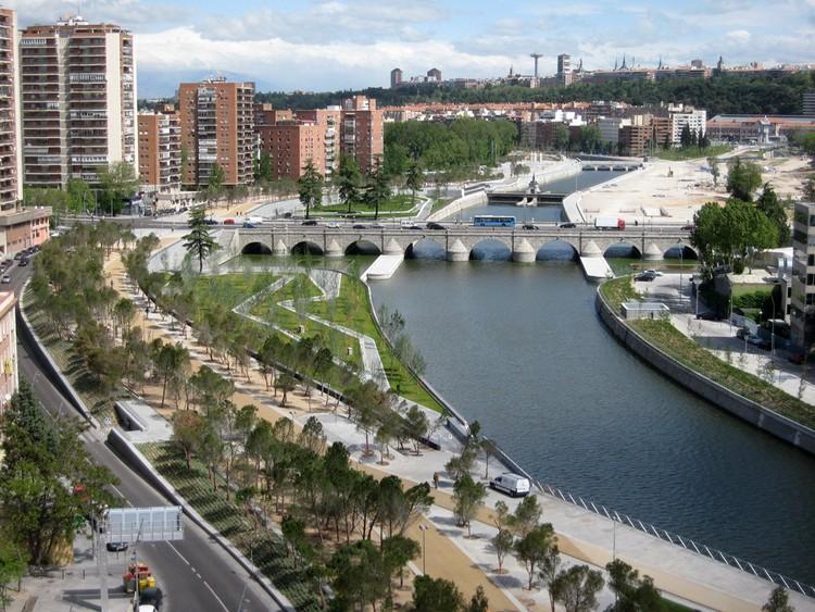 Jardines del Puente de Segovia