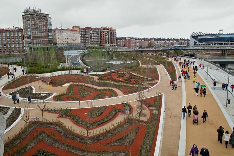 Jardines del Puente de Toledo