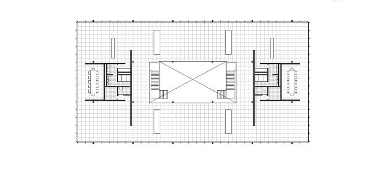Cl sicos de arquitectura oficinas bacardi en m xico for Oficinas planta arquitectonica