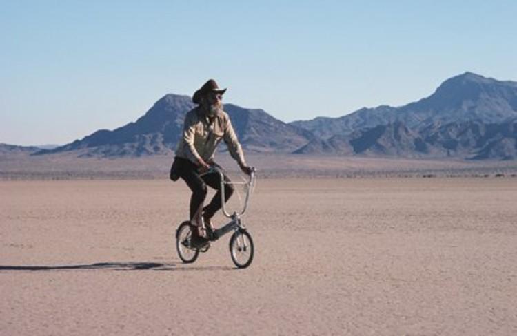 Reyner Banham en el desierto estadounidense
