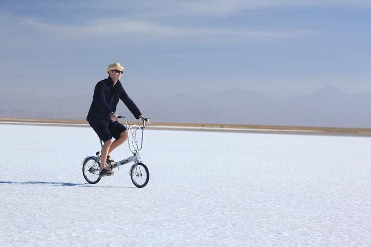 Thomas Weaver at the Tebenquinche Salt Lagoon