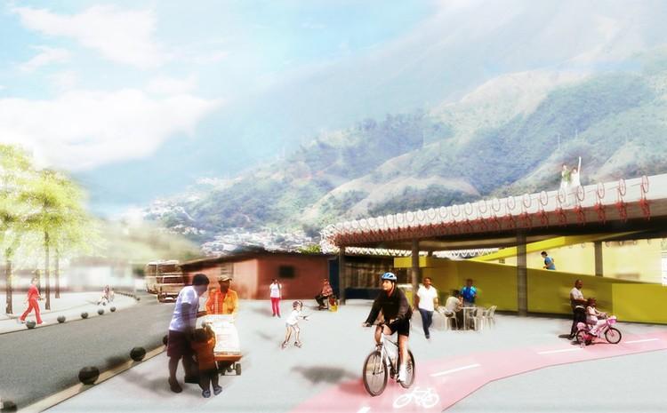 Render / Edificio - Bici