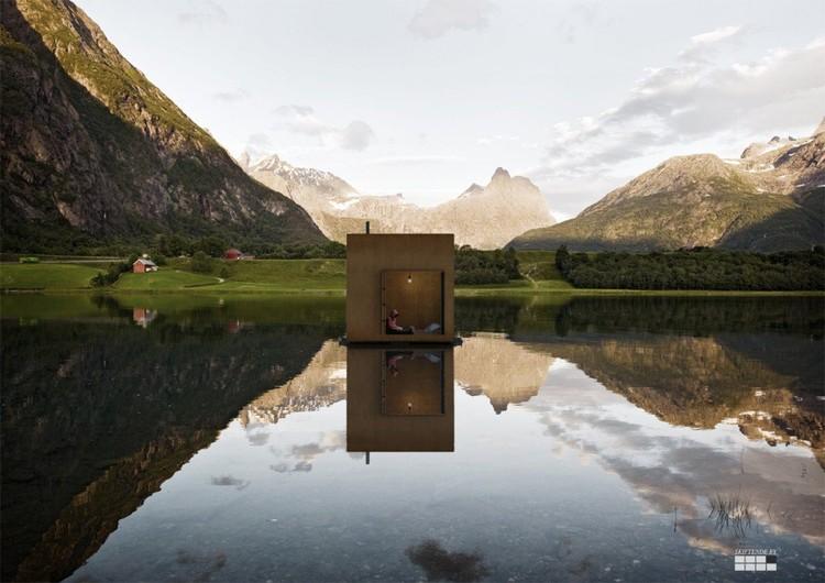 Cabina Rodante y Flotante © Jagnefält Milton