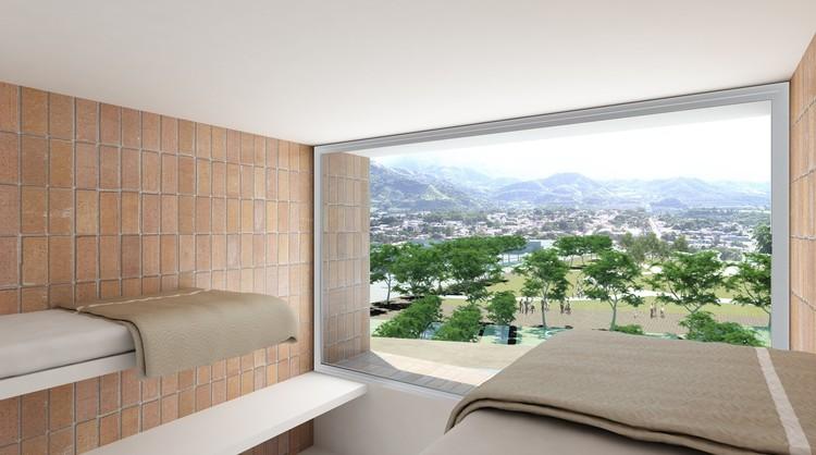 Perspectiva Interior / Habitación Tipo