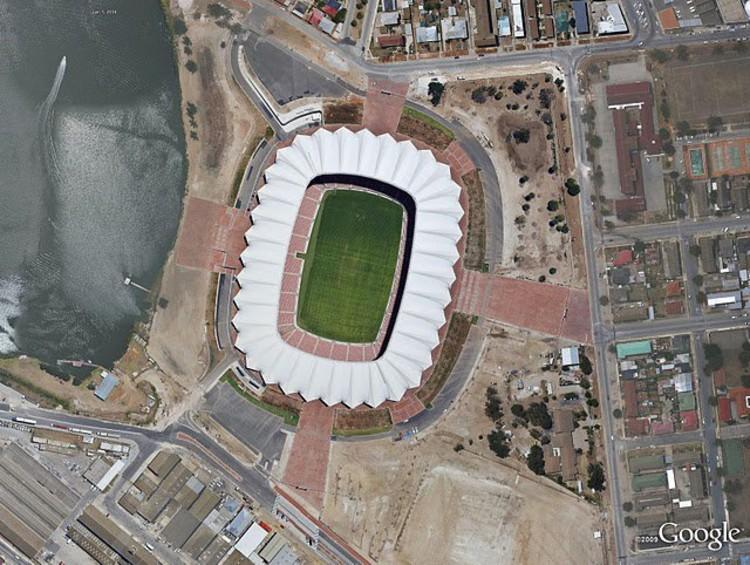 Nelson Mandela Bay Stadium, Port Elizabeth.