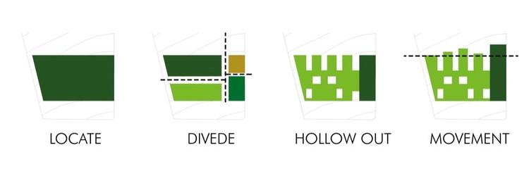 diagrama de espacios
