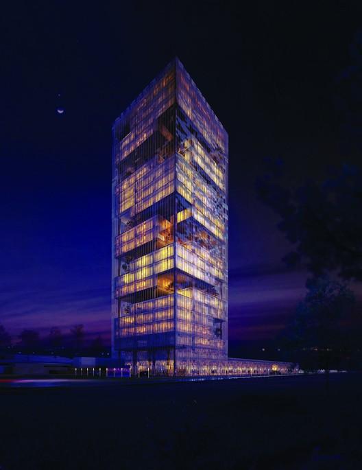 Offices: Güneşli Tower Bağcılar Istanbul designed by Suyabatmaz Architects