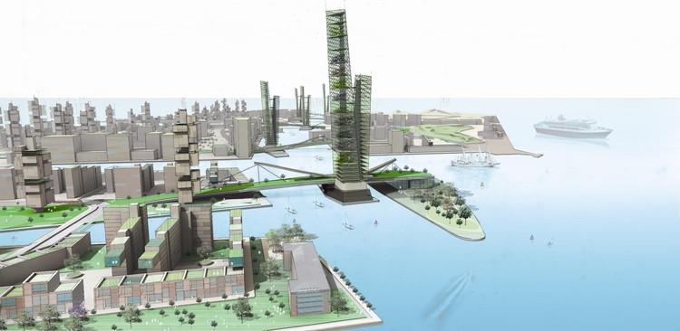 Regeneration and masterplanning: Nordhavnen, in Copenhagen, Denmark, designed by FXFOWLE Architects