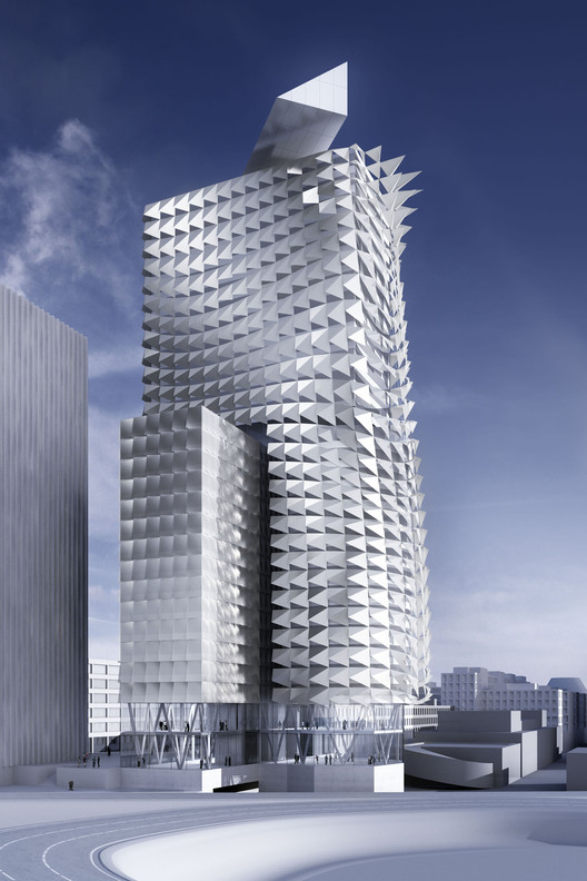 Sustainability: Town Town Office Tower Vienna Austria by COOP HIMMELB(L)AU Wolf D. Prix  W. Dreibholz & Partner ZT GmbH