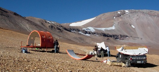 Refugio para Red de Monitoreo de Glaciares