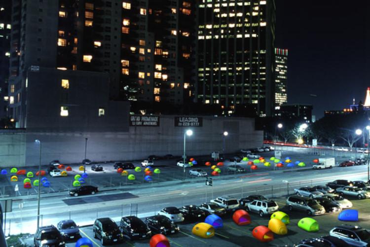 Urban Nomads de Electroland