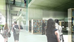 Tercer lugar Concurso Biblioteca Bicentenario / MBAD