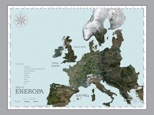 """Mapa de """"Eneropa"""" © AMO"""