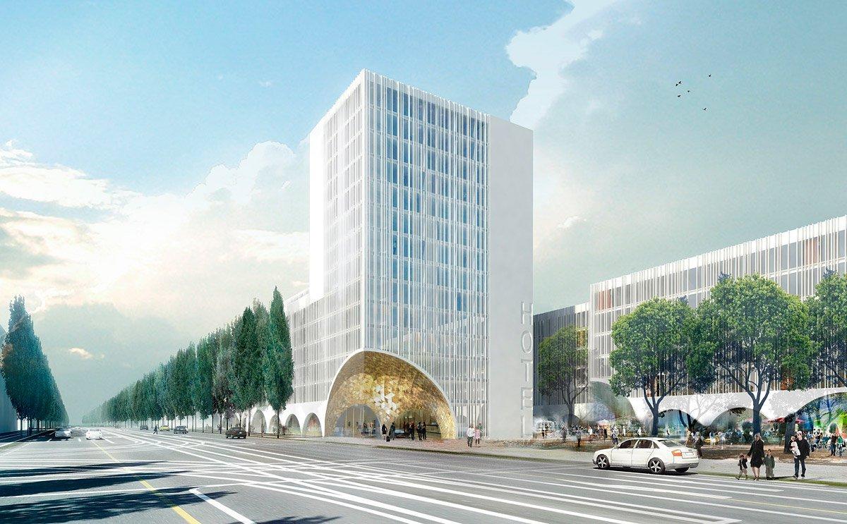 Schwabinger tor hotel scmidt hammer lassen architects for Design hotel muenchen