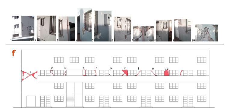 fachada duplex con daños