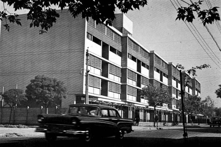 Conjunto Habitacional Matta-Viel, Bresciani-Valdés-Castillo-Huidobro 1954