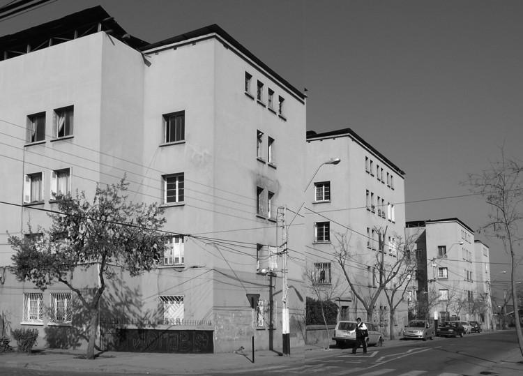 Población San Eugenio. Dirección General de Obras Públicas- Caja de la Habitación Popular, 1932 -1936 Foto: Stéphane Franck.(2009)
