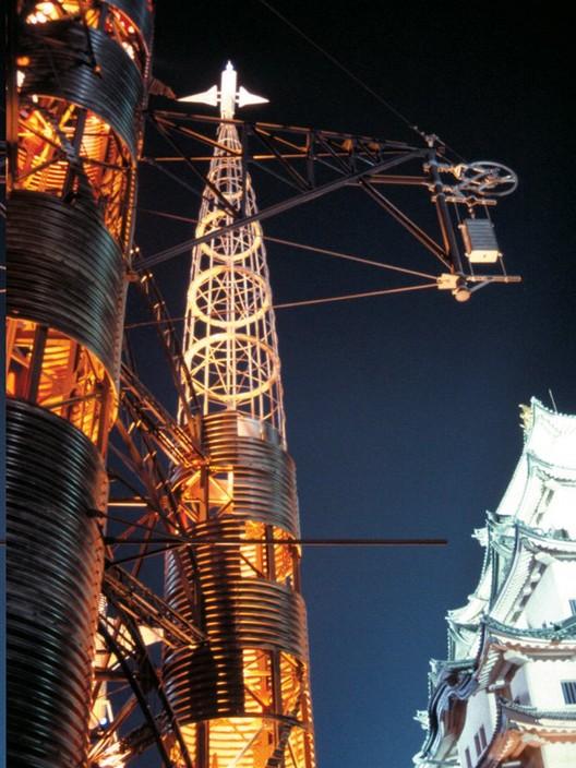 Torre Gaudí, instalación de arquitectura transitoria, obra de Ishiyama en Nagoya, Japón