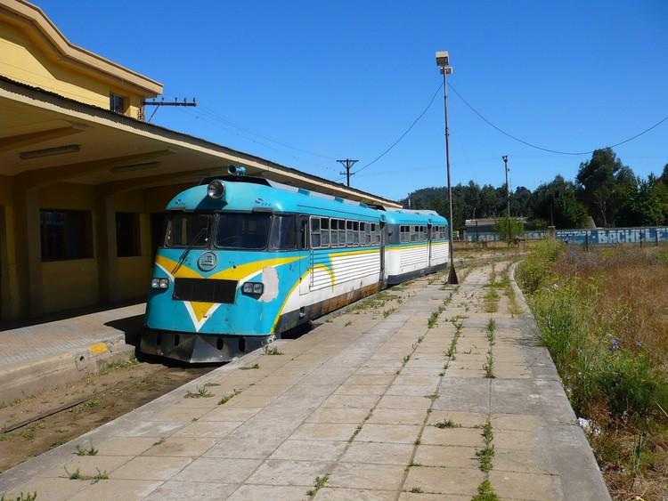 Antiguo último ramal de tren Constitución-Talca