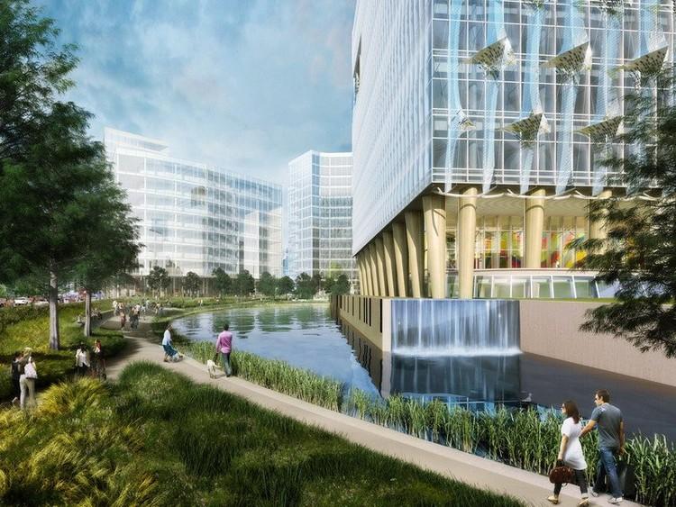 Parque de la Embajada, render por Studio amd