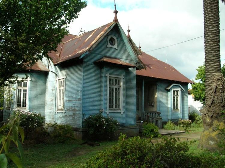 Patrimonio en chile el impresionante rescate de la casa for Casa de musica temuco