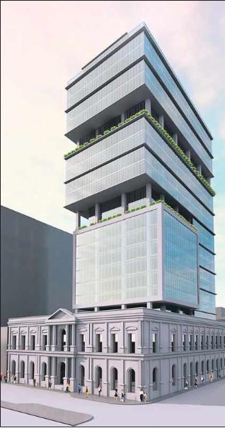 proyecto inmobiliario proyectado en el Palacio Pereira
