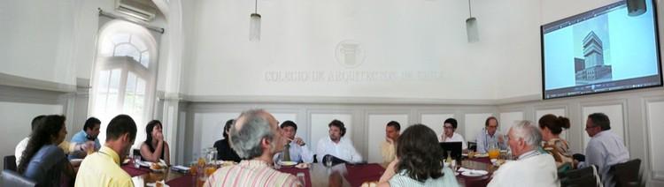 Comité en la presentación del proyecto