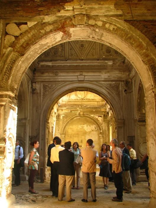 Visita del Comité al Palacio Pereira