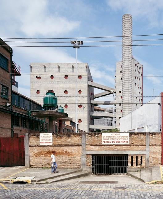 SESC Pompeia, Lina bo Bardi, 1990, Sao Paulo © Cristóbal Palma