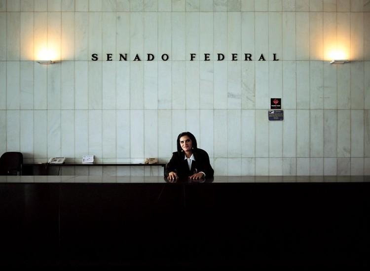 Congreso Nacional, Oscar Niemeyer, 1958, Brasilia  © Cristóbal Palma