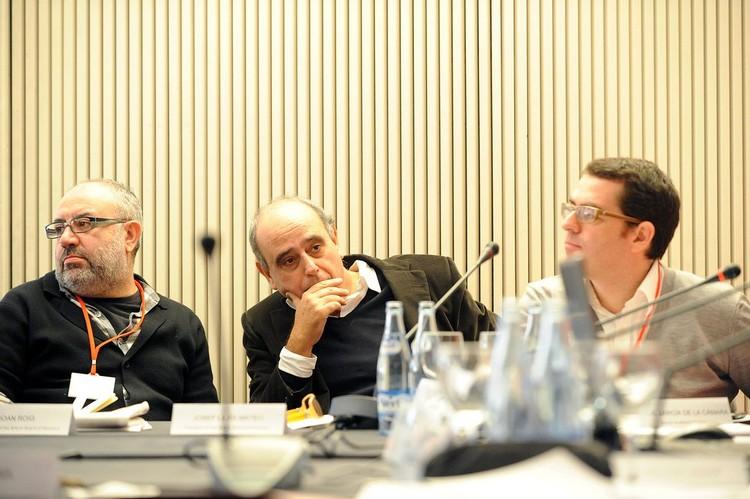 Joan Roig, Josep Lluís Mateo, Jorge García de la Cámara © David Farran