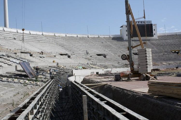 construcción del foso