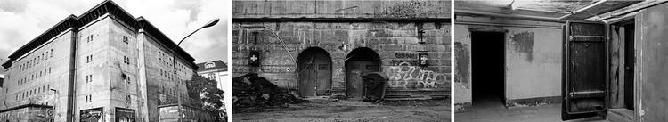 Berlín, Friedrichstrasse, Reichsbahn Bunker von der rote Armee, 1941